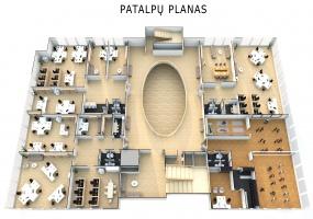 Patalpos,1537